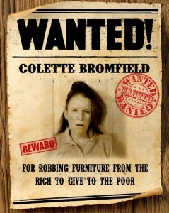 Wanted Colette Bromfield