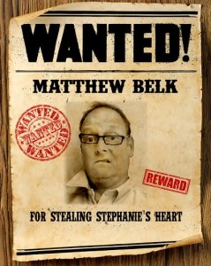Wanted Matthew Belk