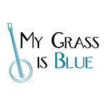 grass is blue