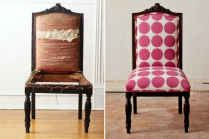 reupholstered